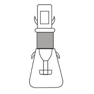 Cavett Blood Test Apparatus