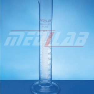 Measuring Cylinder, with Spout and Round Base, Class B