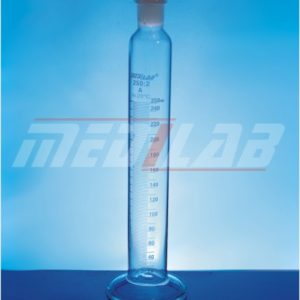 Mixing Cylinder, with PP Stopper, Round/Hex. base, Class-A