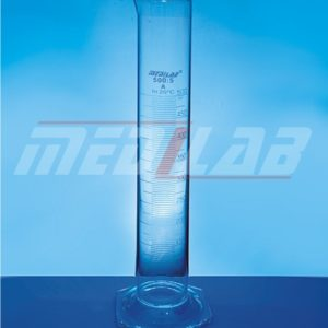 Measuring Cylinder, with Hexagonal Base, Class 'A'