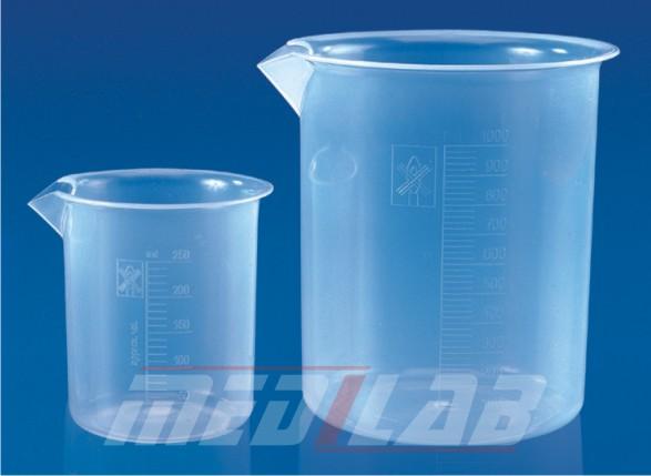 Beaker, Euro Design, Polypropylene