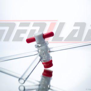 PTFE Stopcock, 3 Way By Medilab Exports Consortium