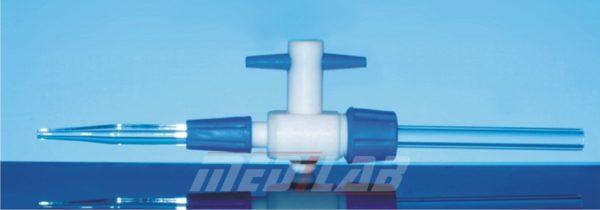 Detachable PTFE Stopcock, for Burette