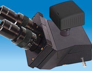Digital Trinocular Observation Head