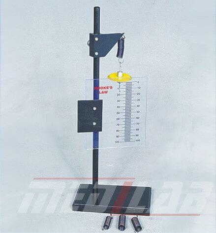Hookes Law Apparatus