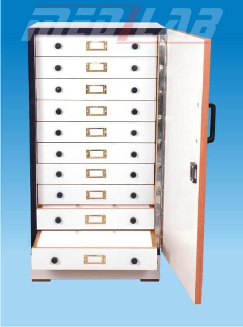Slide Cabinet, Vertical Positioning