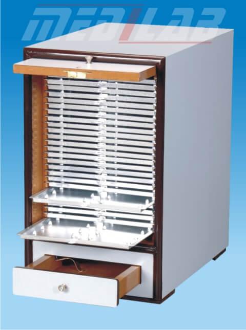 Slide Cabinet, Horizontal Positioning