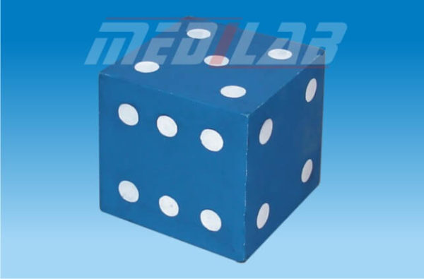 Dice Large Wooden