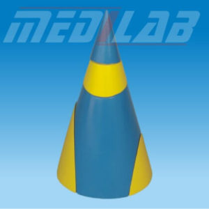 3D Model Of Cone, Section In 5-Parts