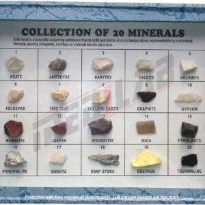 Collection of 20 Minerals