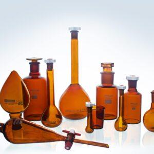 Amber Lab Glassware